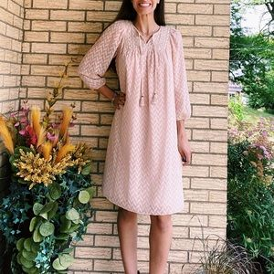 Anthropologie One September peasant dress